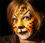 Face Painting of Cat