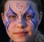 Fantasy Butterfly Face Painting